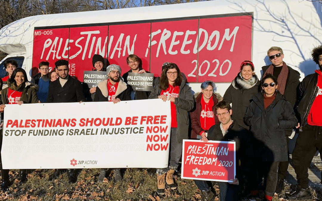 Palestinian Freedom 2020: JVP Action Students Trail Candidates in Iowa