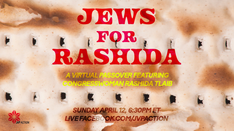 Jews and allies celebrate Passover with Rep Rashida Tlaib